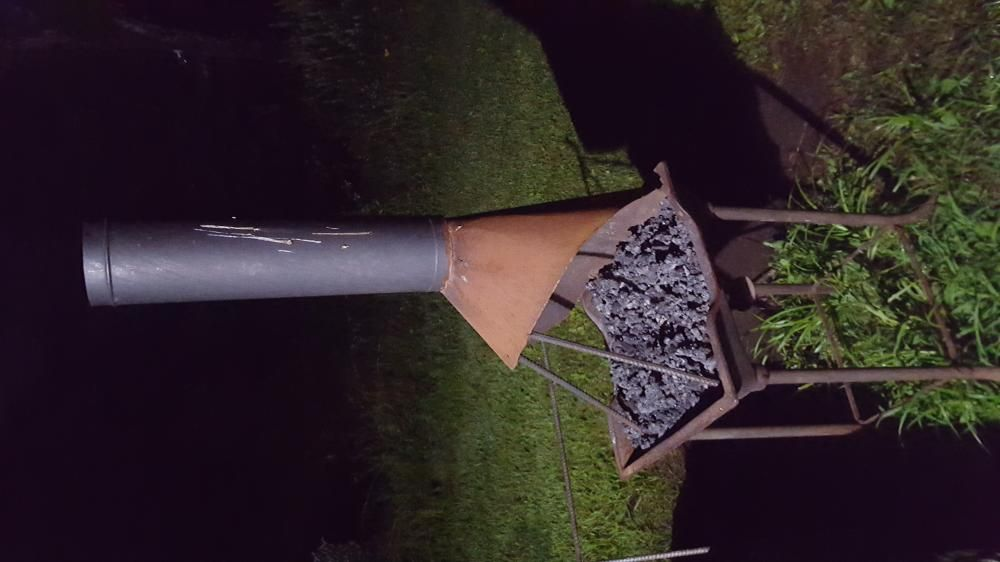 """6"""" flue for outdoor coal forge? - Chimneys, Hoods, and ..."""