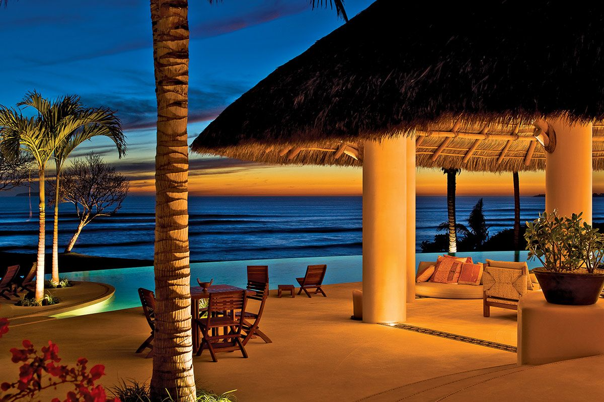 casa tres soles, punta mita | luxury retreats | outdoor areas
