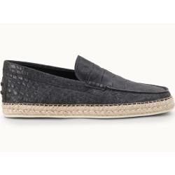 Tod's - Slip-ons aus Leder, Schwarz, 7 - Shoes Tod's