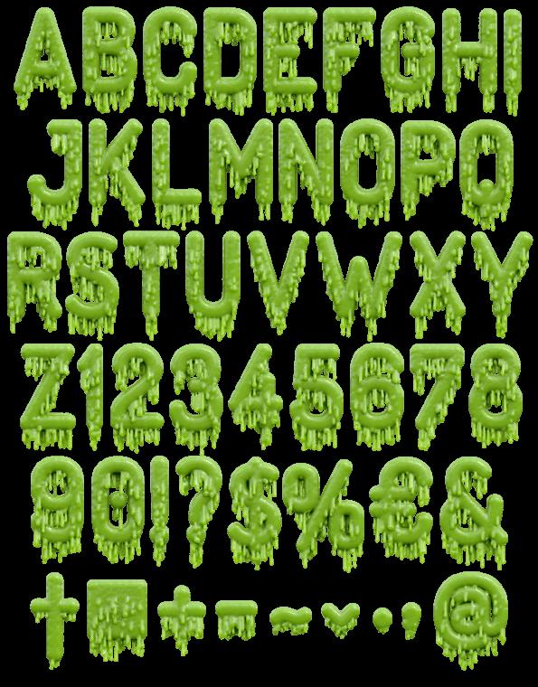 creepy font summoning handmade