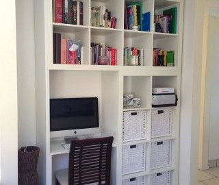 16 Awesome Computer Desk Wall Units Snapshot Ideas Kallax Ikea Ikea Bookshelf Desk