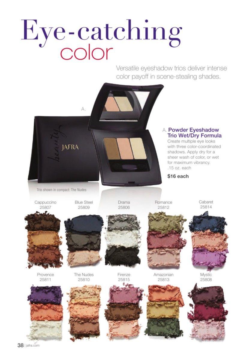 Pin By Cj Gordon On Siempre Bella Jafra Jafra Cosmetics Makeup Eyeshadow Aloette Cosmetics