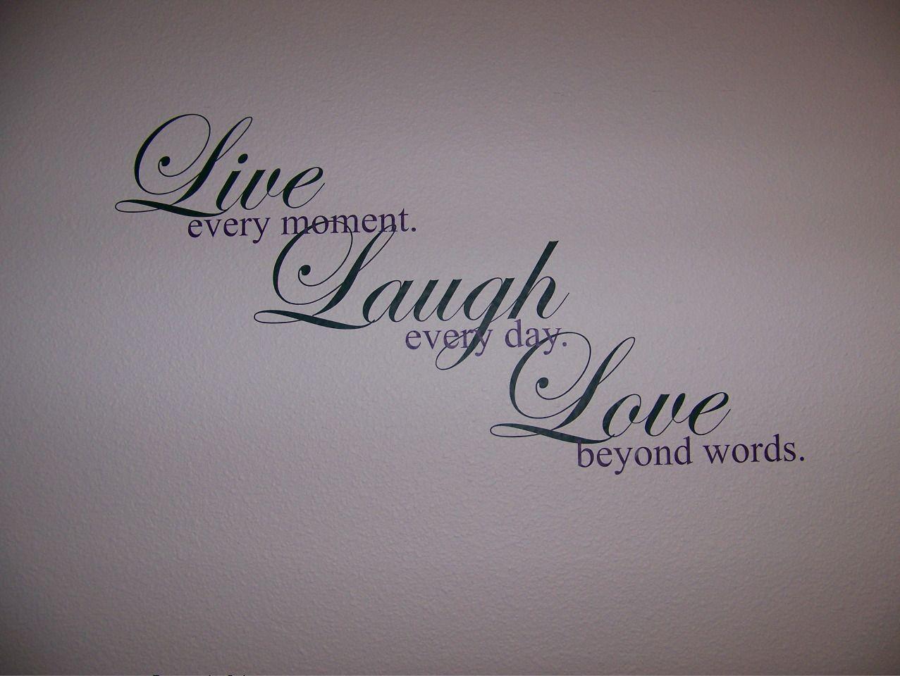 love saying tattoo designs live laugh lovejpg tattoos pinterest. Black Bedroom Furniture Sets. Home Design Ideas