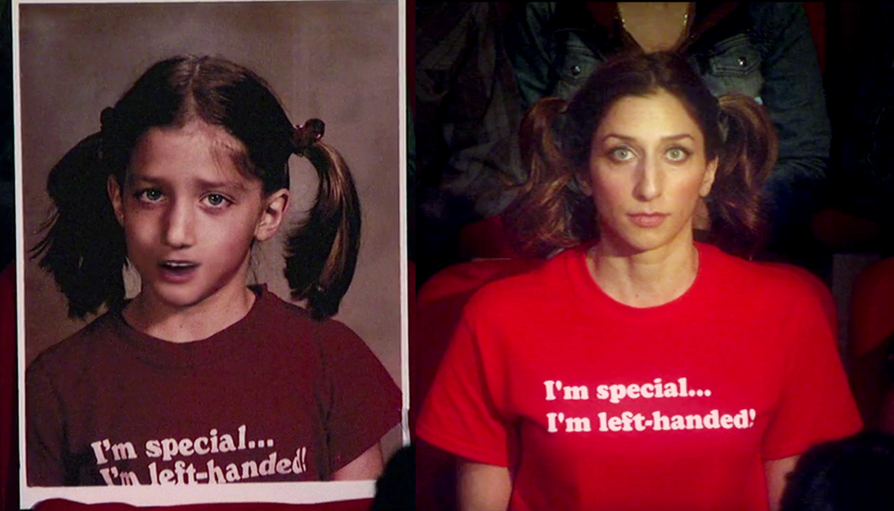 Chelsea Peretti Is Left Handed She Wore A I M Special I M Left Handed Shirt As A Child And In Her Netflix S Left Handed Shirt Lucky Lefty Chelsea Peretti