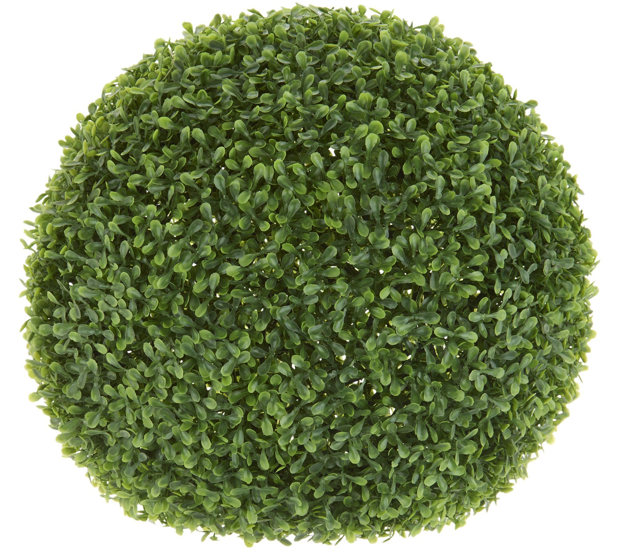 Barbara King Faux Boxwood Topiary Sphere Qvc Com Artificial Plants Artificial Plants Outdoor Topiary Plants