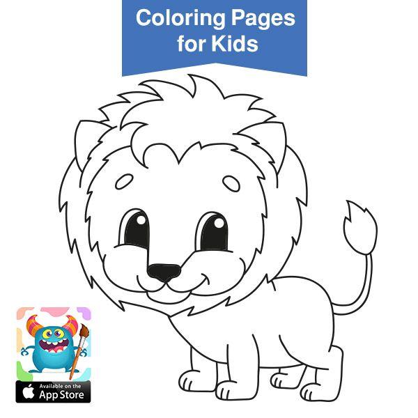 صور حيوانات للتلوين رسومات اطفال رسومات حيوانات الغابه للتلوين بالعربي نتعلم Animal Coloring Pages Coloring Pages For Kids Free Coloring Pages