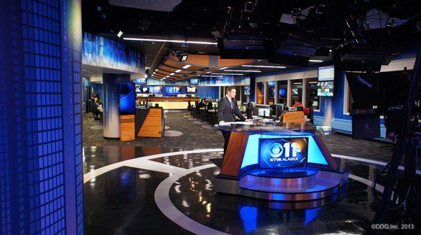 16 best KTVA-TV Newsroom & News Set images on Pinterest   Set ...