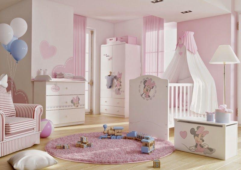 Dormitorios para bebés tema Minnie | Cosas que comprar en ...