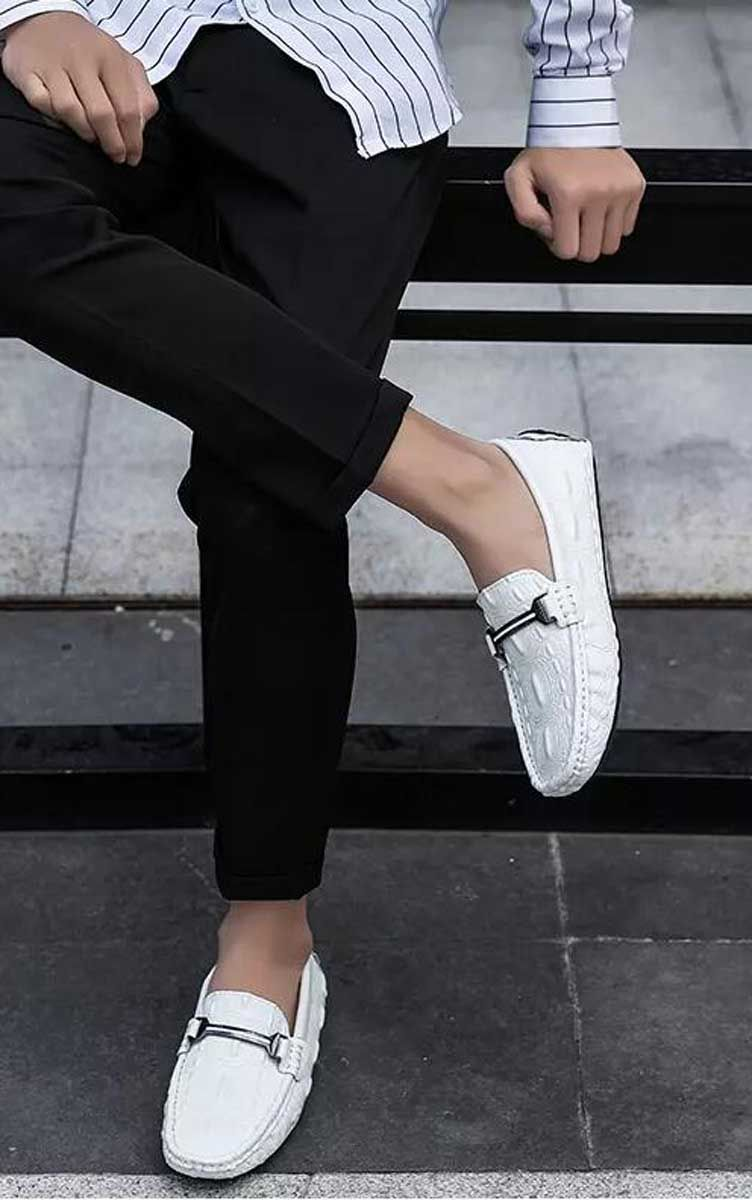 Leather slip on shoes, Leather slip ons