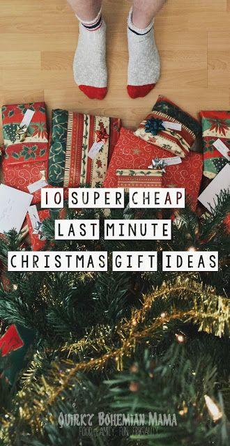 10 Super Cheap Last Minute Christmas Gift Ideas Cheap Homemade