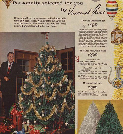 Artificial Christmas Trees! A Vintage Catalog Extravaganza | Christmas tree  and Vintage christmas