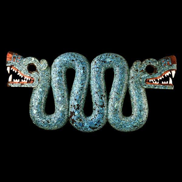 An Aztec Snake #aztec