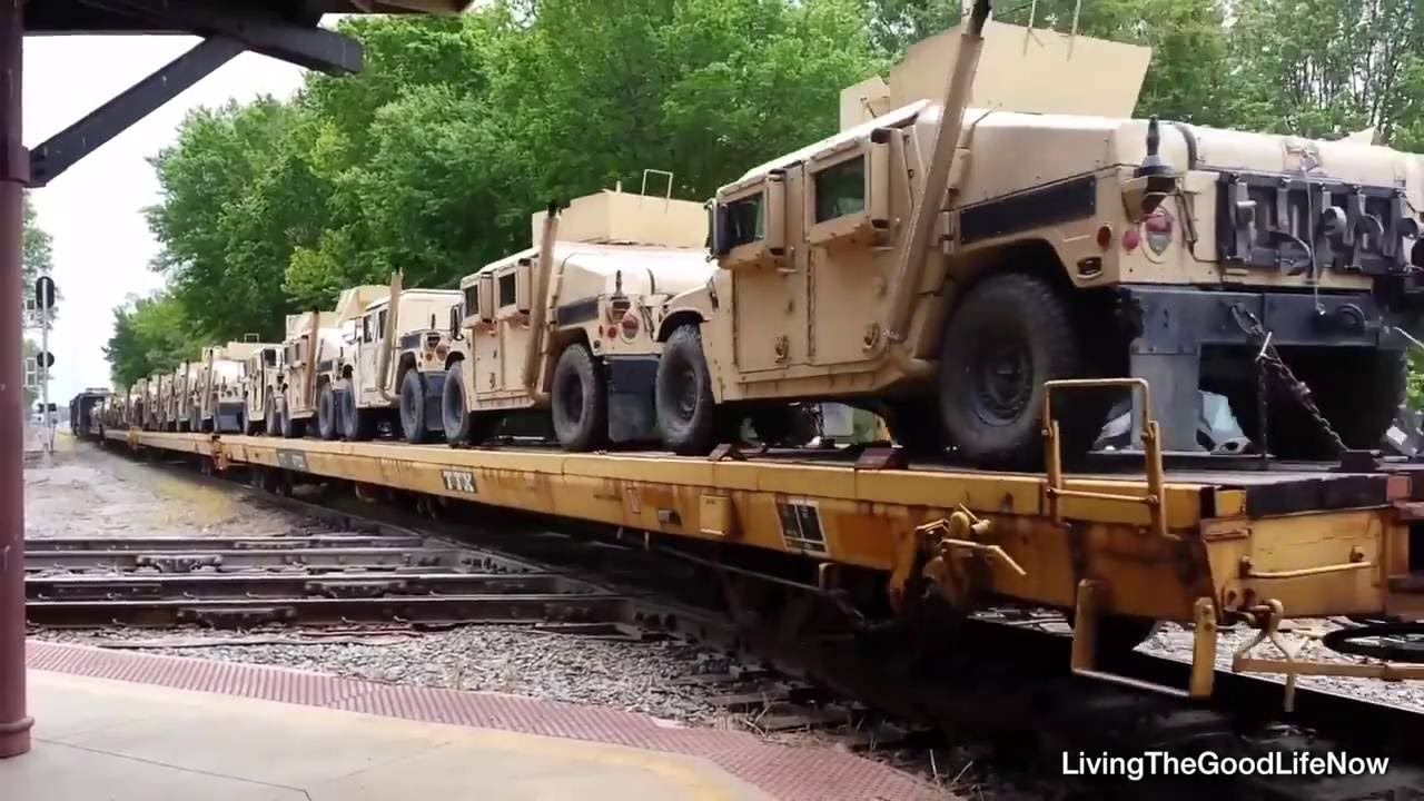 2017 Convoy Trains Transporting Un Military Tanks Prepare For Martial La Not White Hardware But Lead By Generals Who Accepted S Order To Go