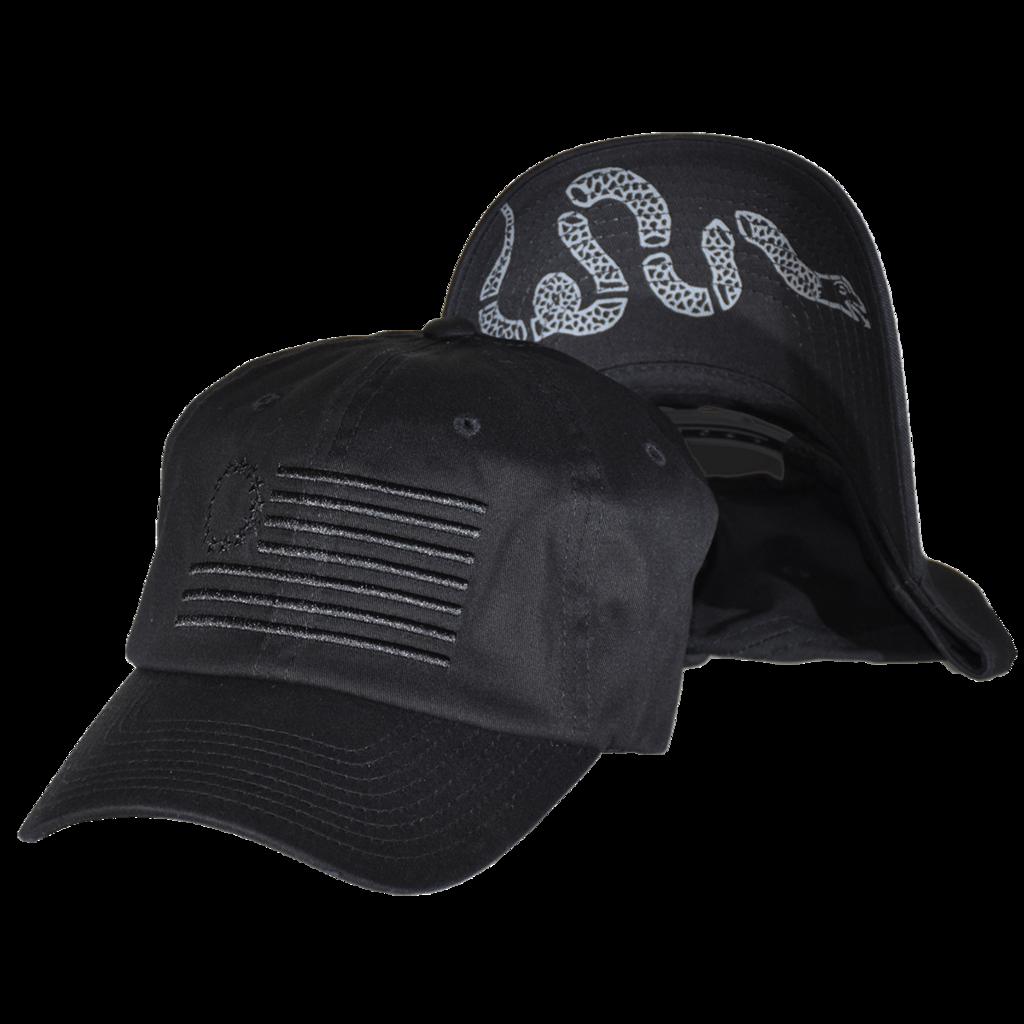 The Original Thirteen Snapback Blacked Out Edition Curved Bill Dad Fashion Black Baseball Cap Black