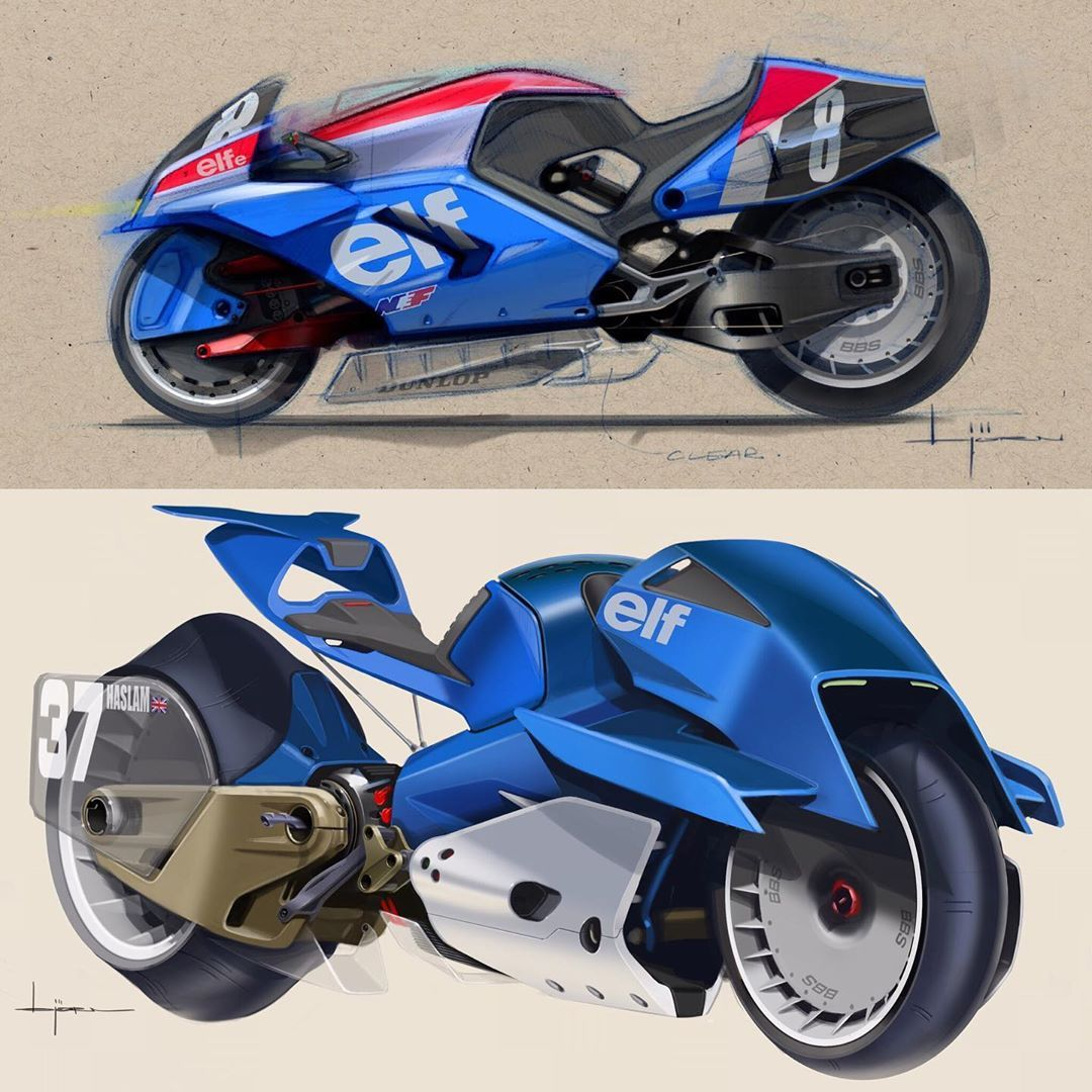 2035 Future Motorcycles