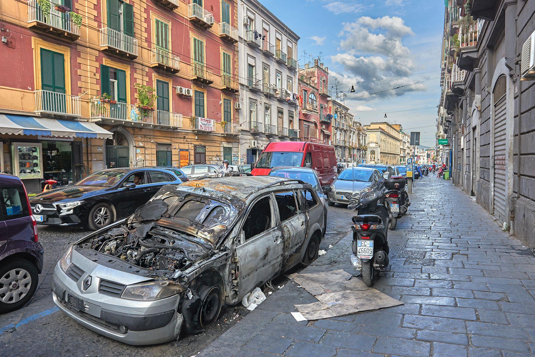 Una calle de Nápoles