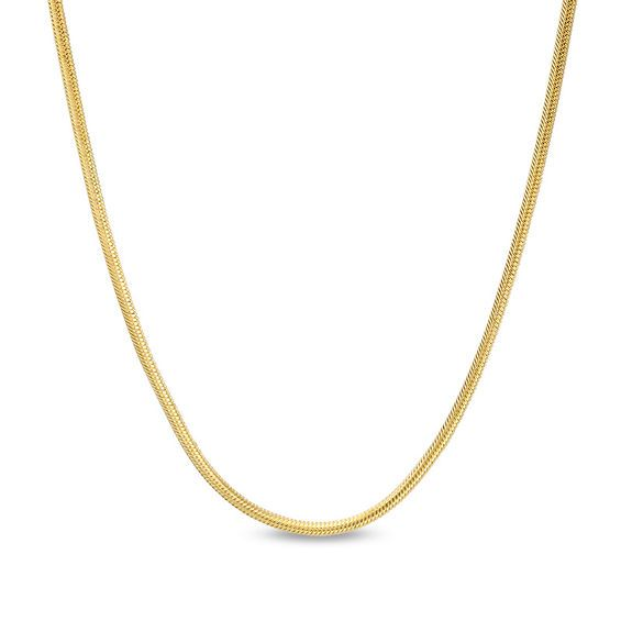 Ladies 1 6mm Snake Chain Necklace In 14k Gold 20 Zales Snake Chain Chain Necklace Chains Necklace