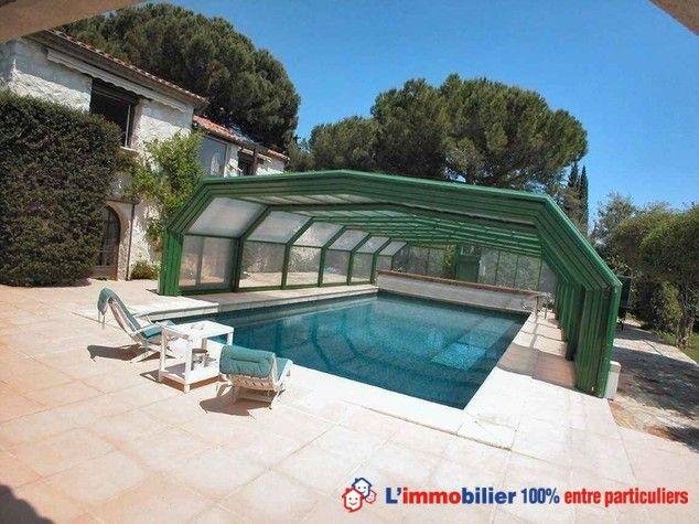 Magnifique propriété, parc aménagé, calme, résidentiel, 4 chambres - location villa piscine couverte chauffee