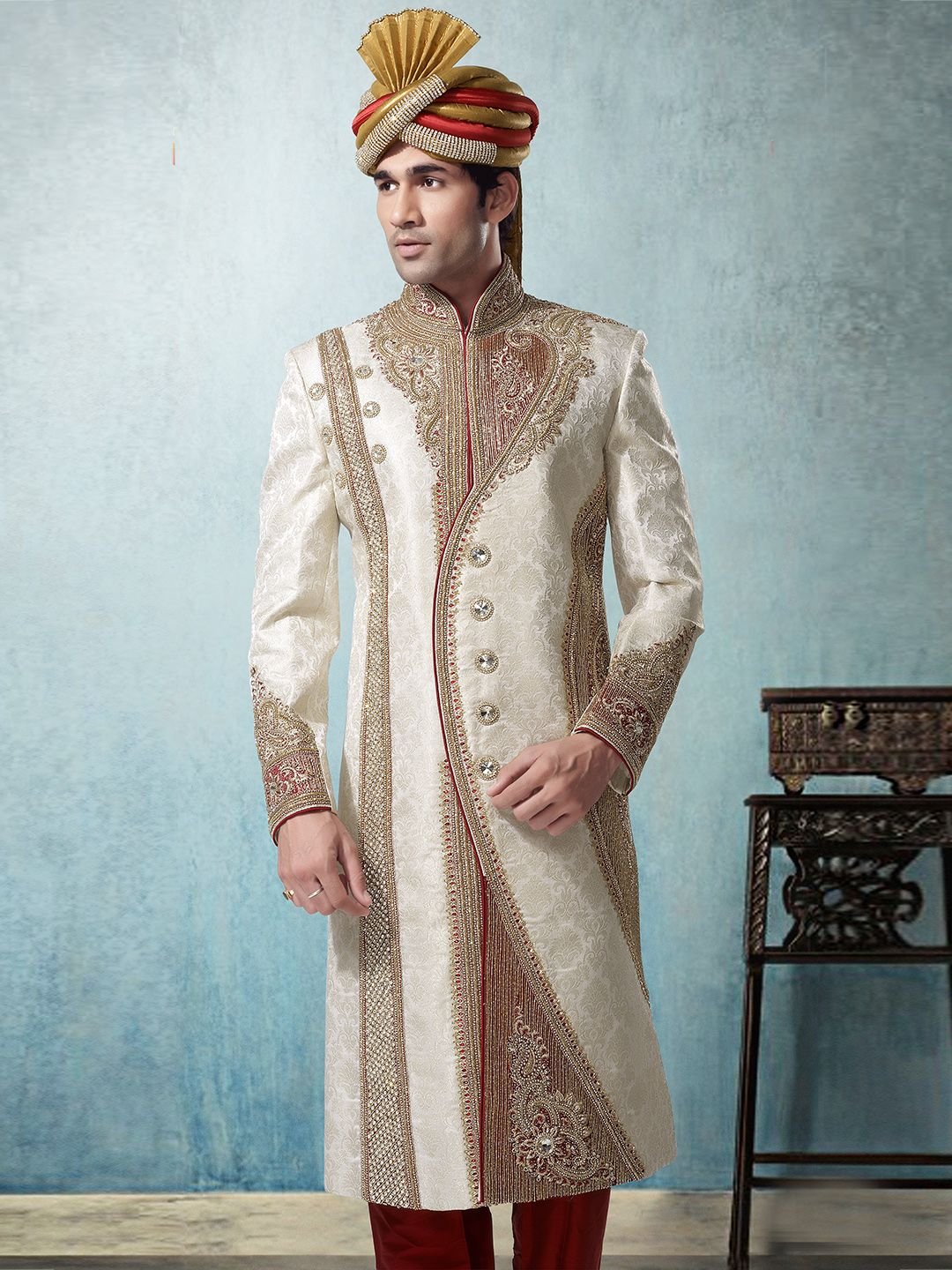 Beautiful Indian Wedding Outfit For Men Images - Wedding Ideas ...