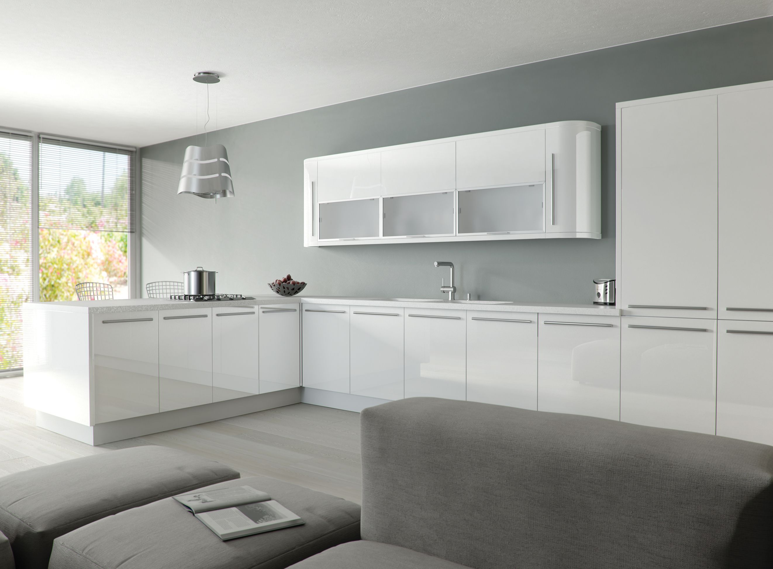 7 Things You Need To Know About White Gloss Acrylic Kitchen Cabinets Today In 2020 Glossy Kitchen Gloss Kitchen Cabinets White Gloss Kitchen