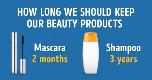 How long should weactually keep our beauty products?