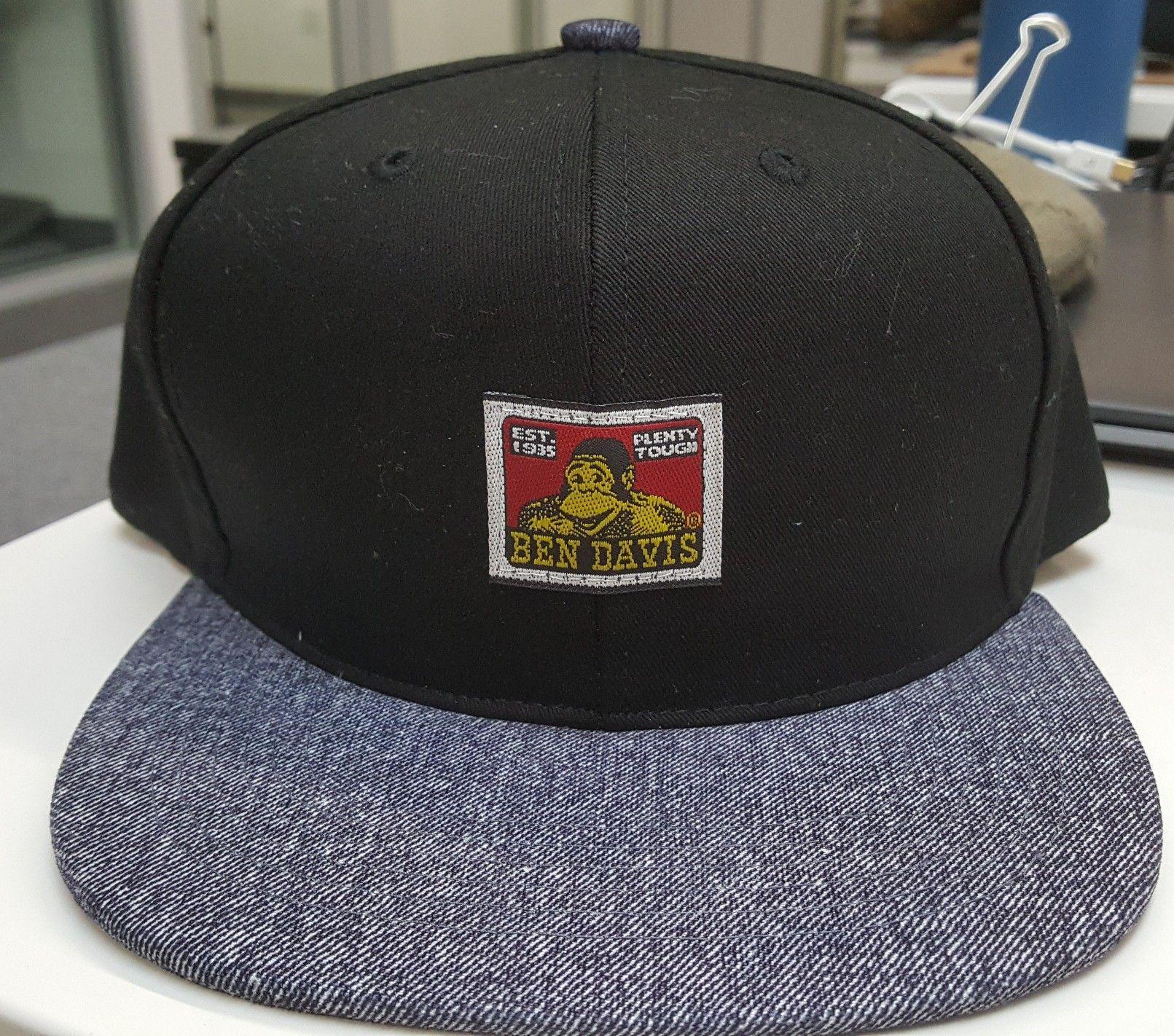 Custom Ben Davis Snapback hat  df6ec3e96fa
