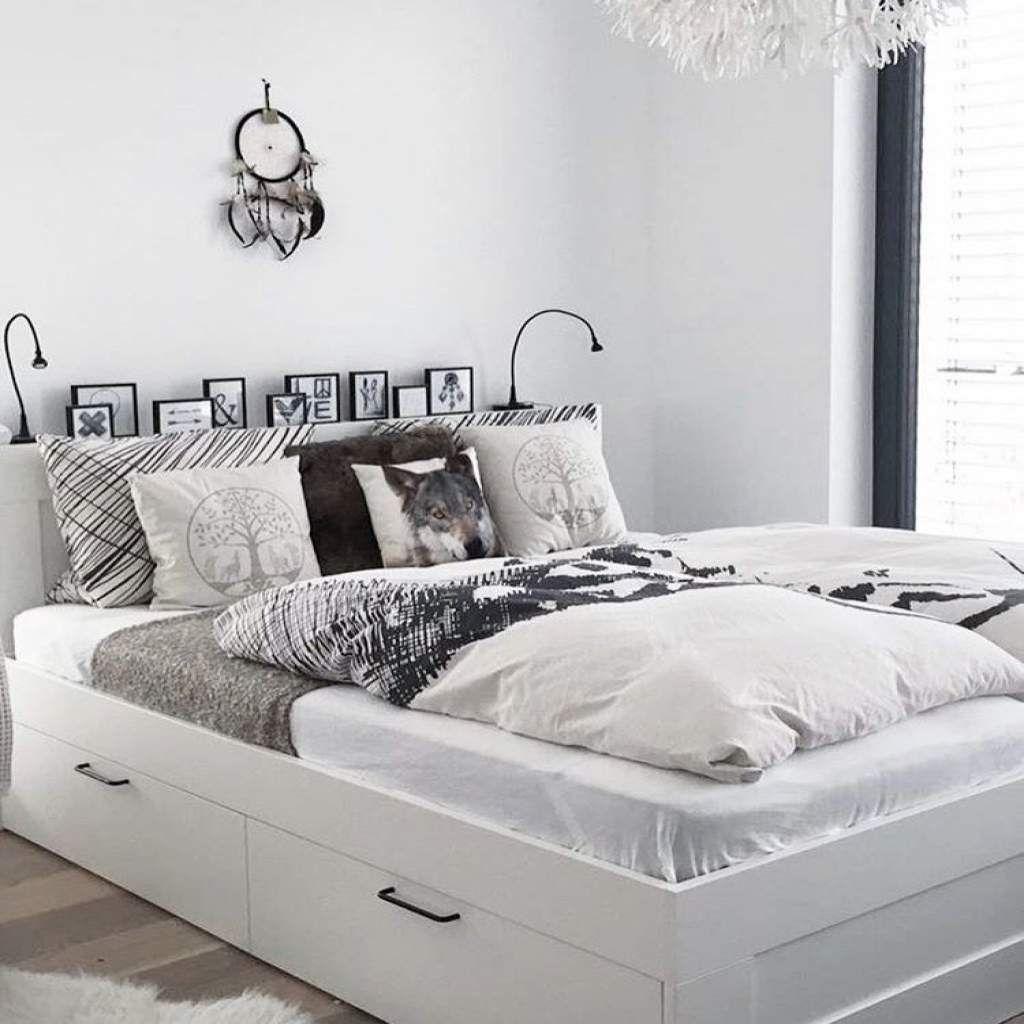 Ikea Tagesbett Brimnes : brimnes bed frame with storage headboard apartment in ~ Watch28wear.com Haus und Dekorationen