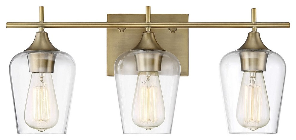 Savoy House Octave 3 Light Bath Bar Transitional Bathroom Vanity Lighting By Better Living Sto Vanity Lighting Bathroom Vanity Lighting Bathroom Lighting