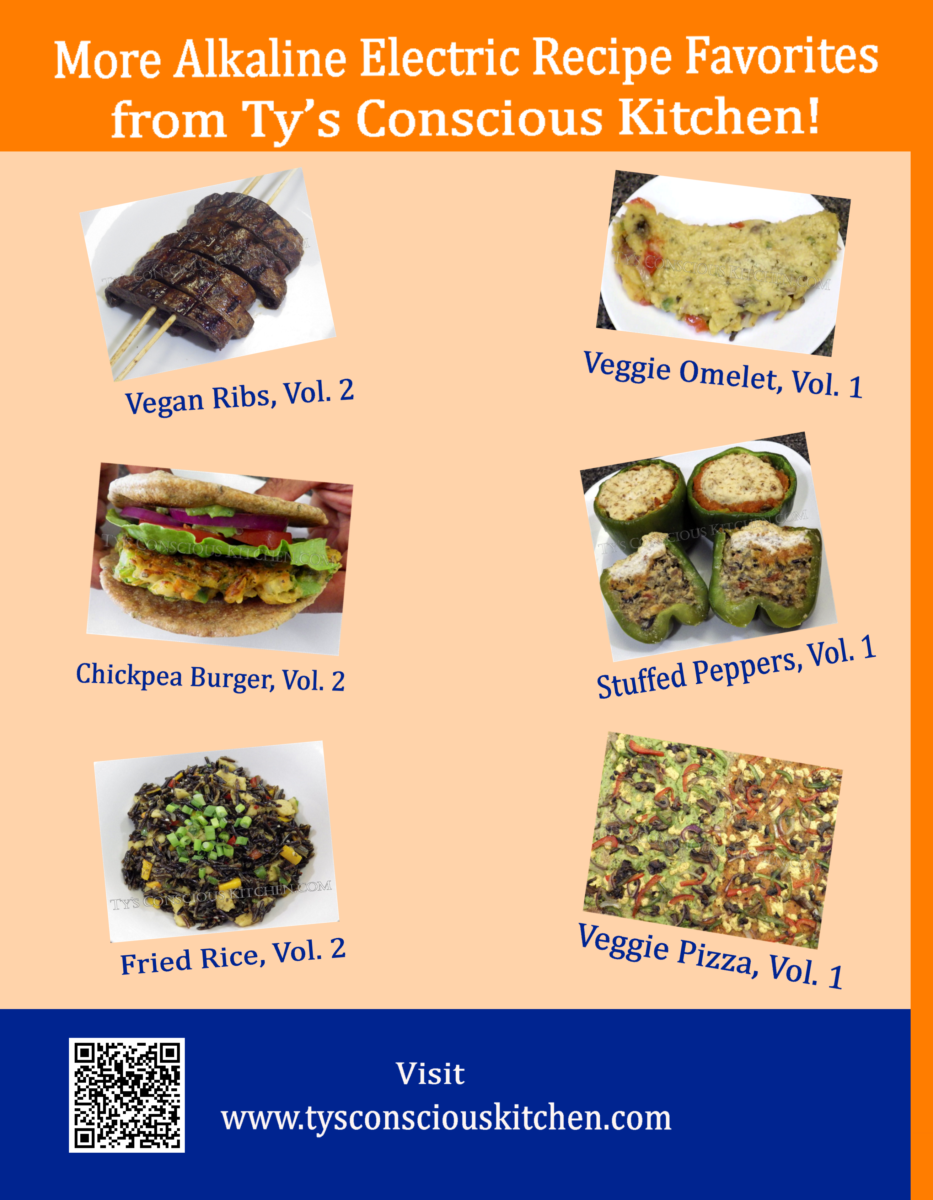 Alkaline Electric Recipes From Ty S Conscious Kitchen Vol 3