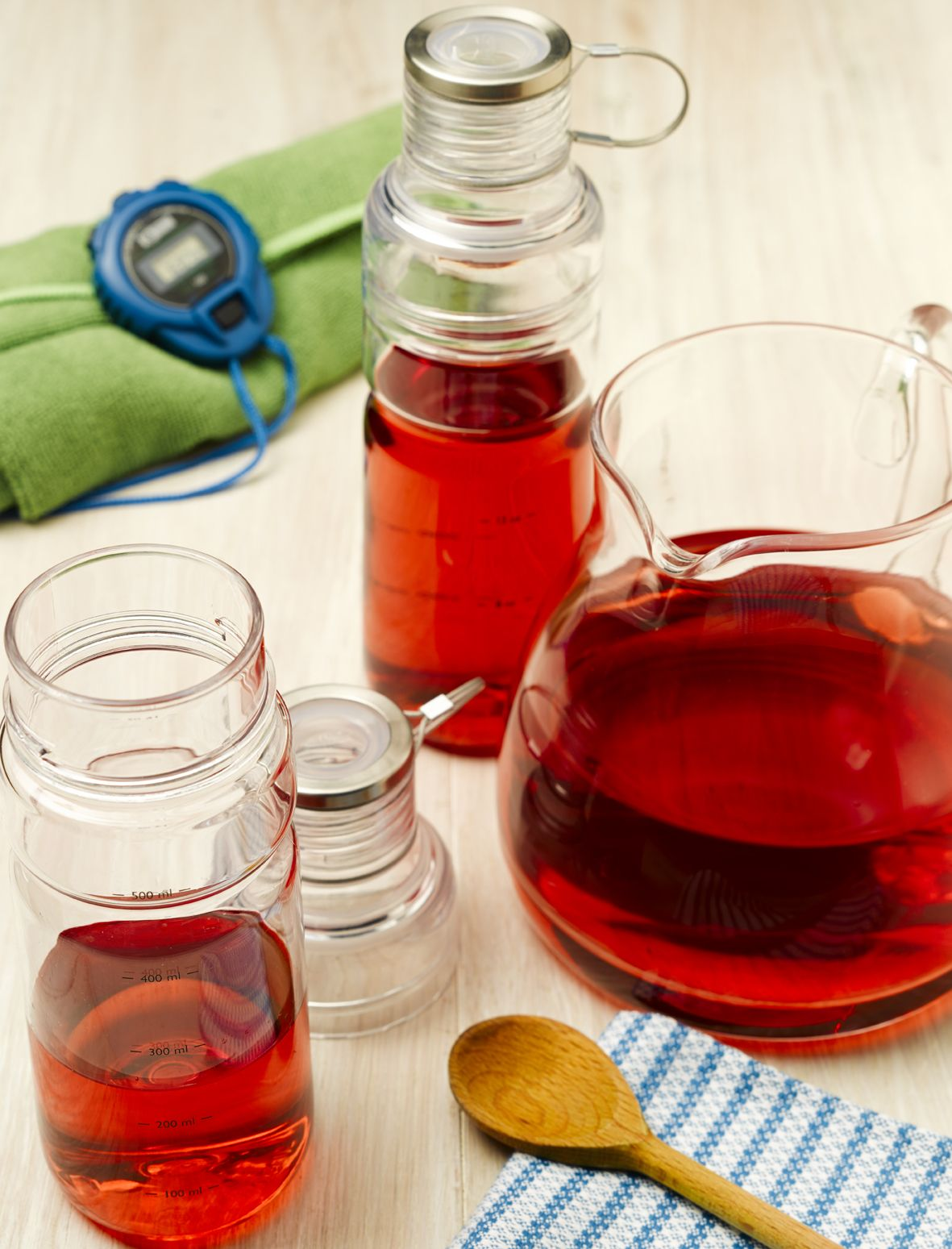 This allnatural homemade energy drink provides a great
