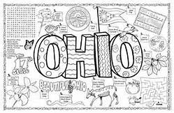 Ohio Coloring Sheets Yahoo Image Search Results Ohio History