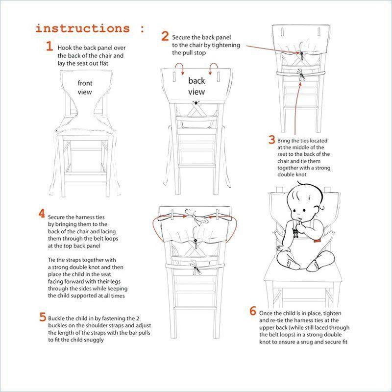 fabric high chair   Baby   Pinterest   High chairs ...