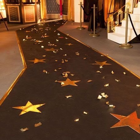 glamorous star studded pathway kit hollywood prom send off pinterest bal de promo decos. Black Bedroom Furniture Sets. Home Design Ideas