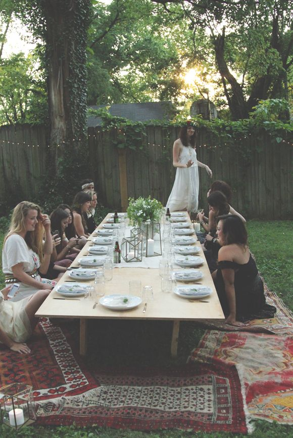 Backyard Dinner Party With Ruthie Lindsey Local Milk