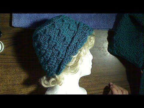 C2C crocheted hat - YouTube | Crochet : C2C | Pinterest