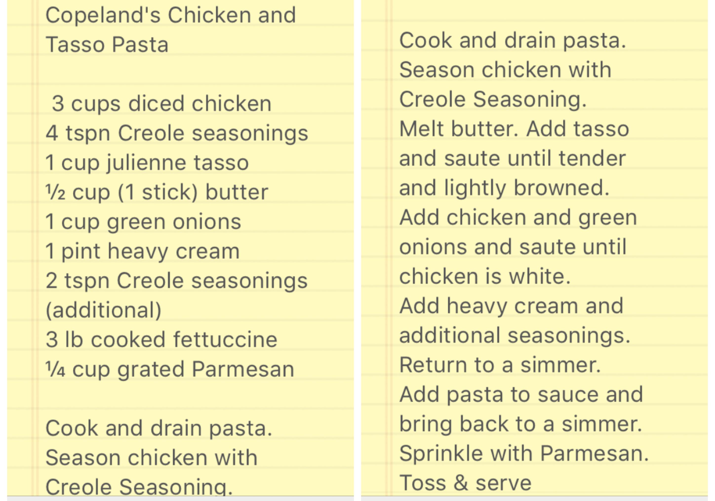 Photo of Chicken & Tasso pasta