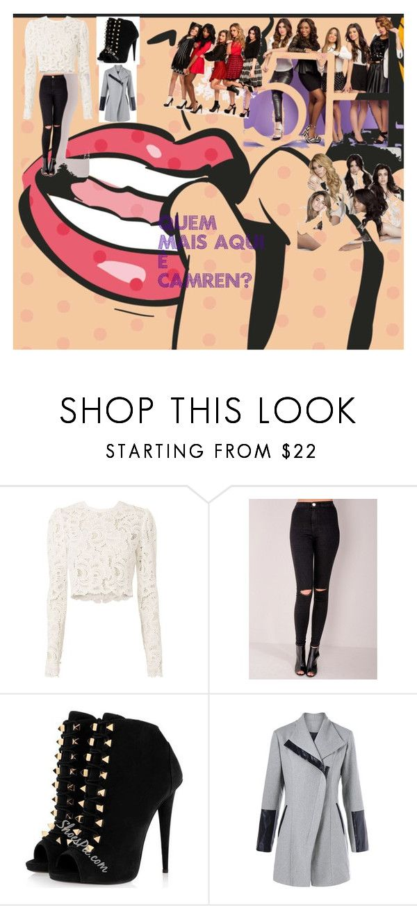 """Fifth harmony or fouthy harmony?"" by adriny-couto ❤ liked on Polyvore featuring A.L.C."