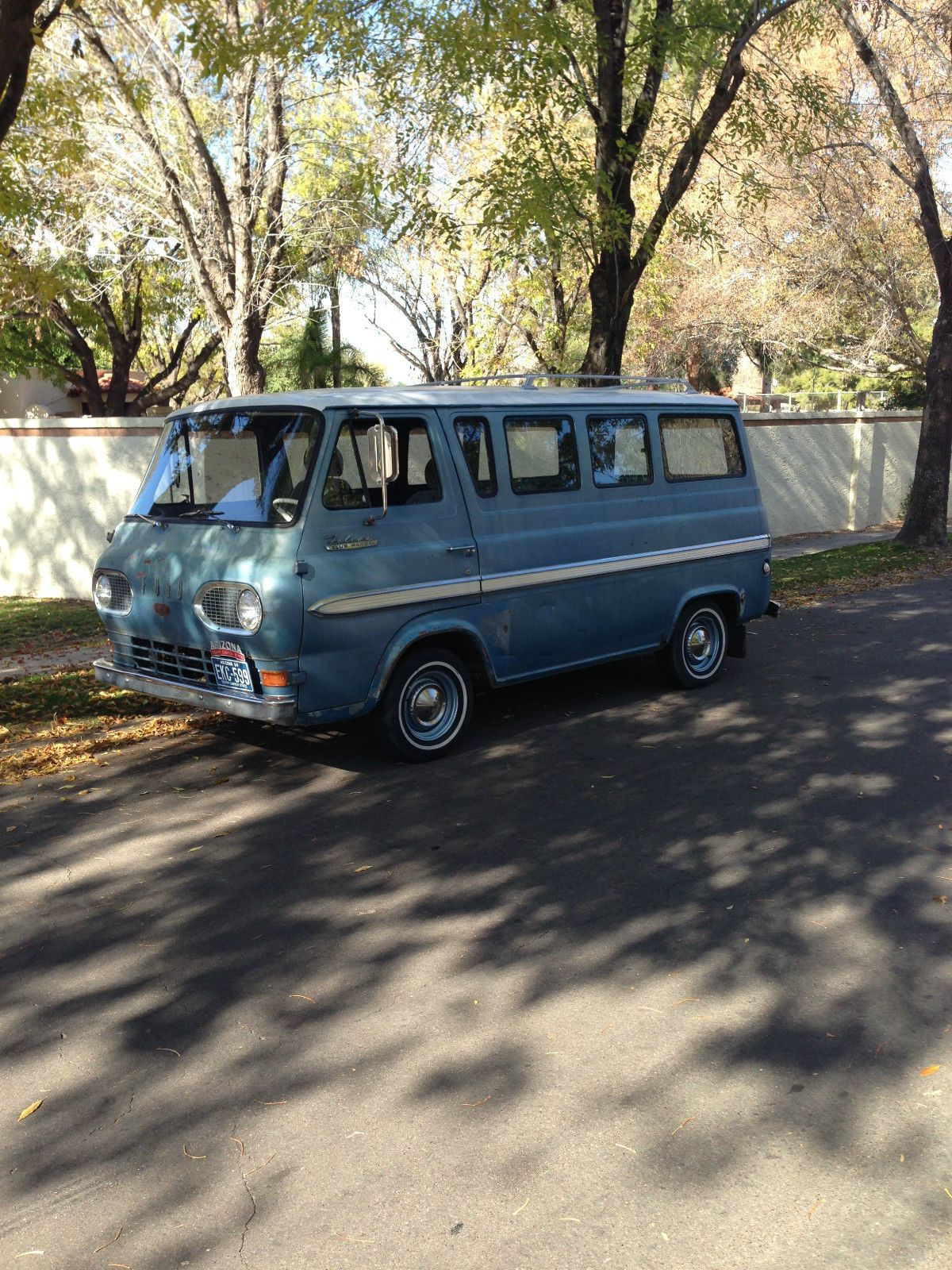 1964 Falcon Club Wagon Econoline Vintage Vans Wagon 15