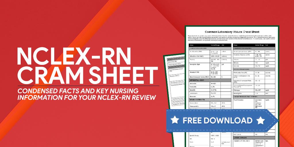 NCLEX-RN Exam Cram Sheet (2019 Update) | Articles of Interest