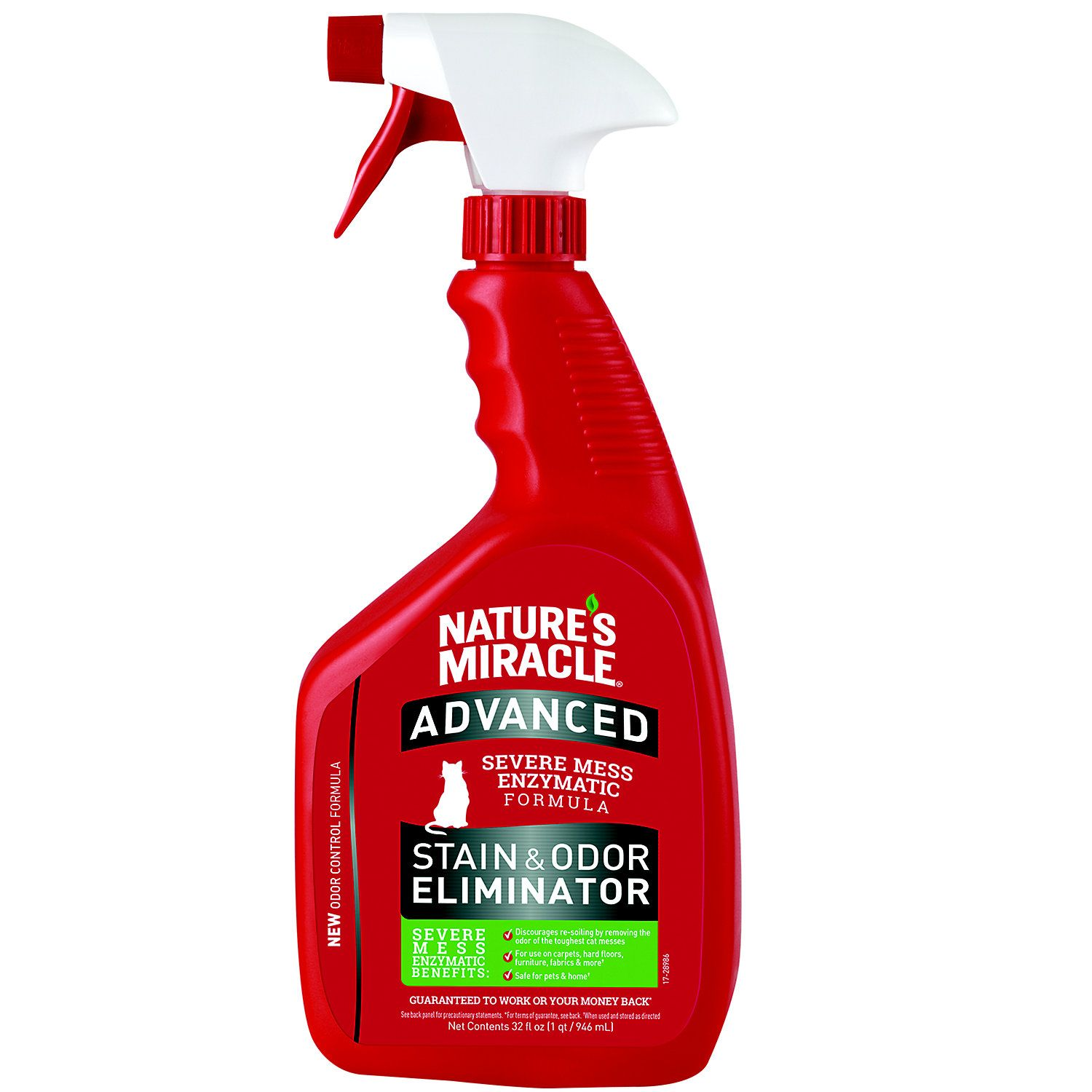 "Nature""s Miracle Advanced Stain and Odor Eliminator For"