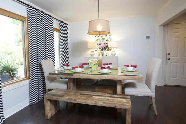 Easy Home Upgrades From HGTVs Buying And Selling Rustic Dining Room