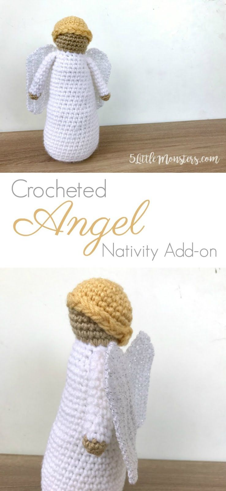 Angel: Crochet Nativity Add-On | Angeles Crochet | Pinterest ...