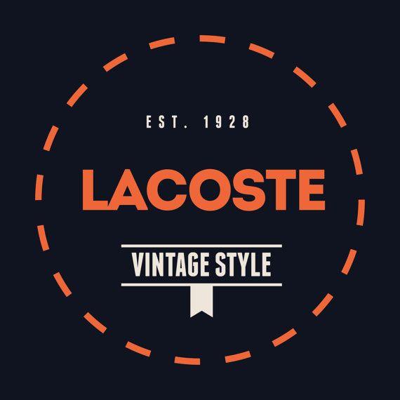 Lacoste Vintage Logo Dress Logo Garments Logo Textile Logo Dress Logo Vintage Logo Textile Logo