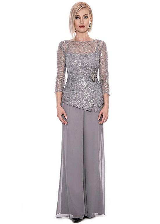 0465a8ddc Resultado de imagen para trajes pantalon para madrina de boda ...