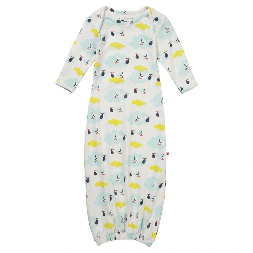 Baby Nightgown - Stork | Nightgown, Organic baby and Babies