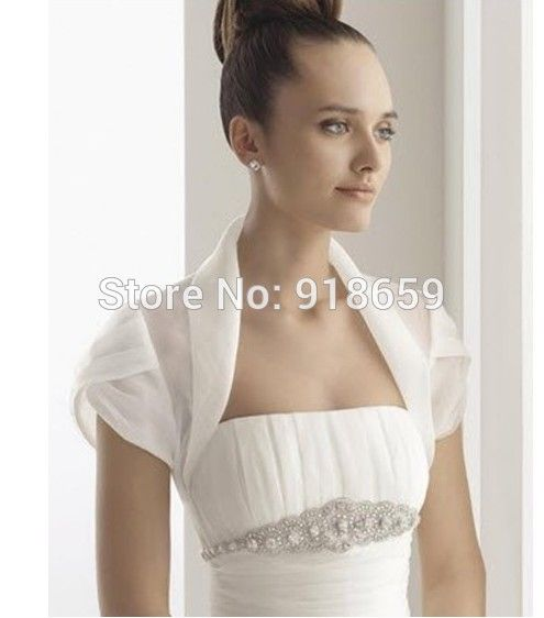 Find More Wedding Jackets Wrap Information About Custom Made Tulle White Ivory Wedding Bridal Jack Silk Wedding Dress Jeweled Wedding Dress Wedding Dresses