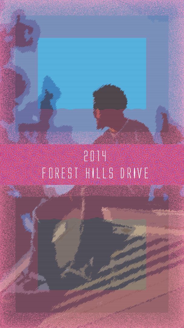 J. Cole 2014 Forest Hills Drive iPhone Wallpaper Forest