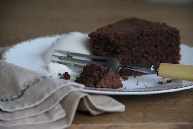 Cheap, Sustainable, Delicious: Cocoa Yogurt Cake
