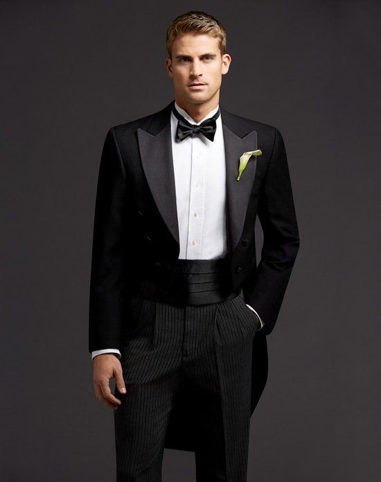 The Men\'s Wearhouse® Full Dress Tails Tuxedo | Unique Wedding ...