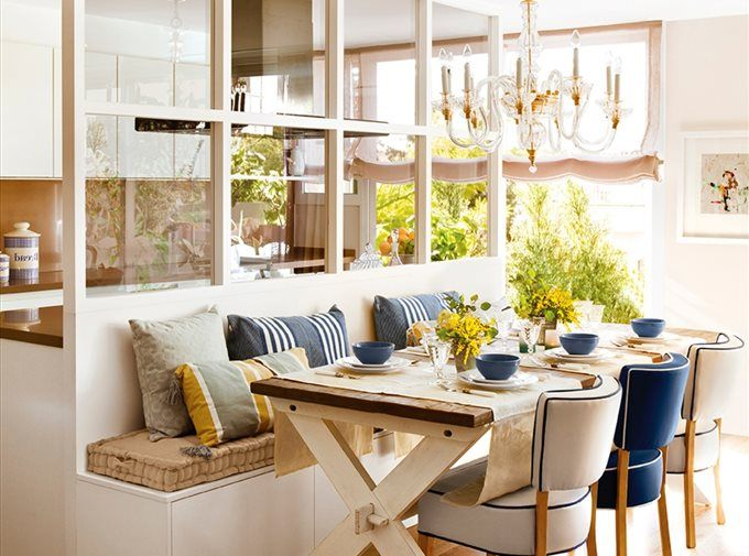 Flower Power Échale Flores A Tu Casa  Ideas Para Cultivos Y Deco Prepossessing Ideas To Decorate Dining Room Table Inspiration
